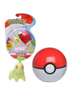 POKEMON CHIKORITA POKEBALL